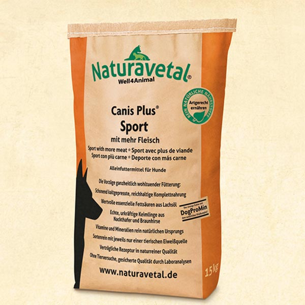 Pinso Naturavetal Canis Plus Sport
