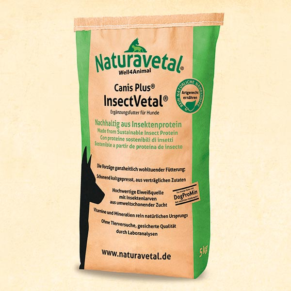 Pinso Naturavetal Canis Plus Insectvetal